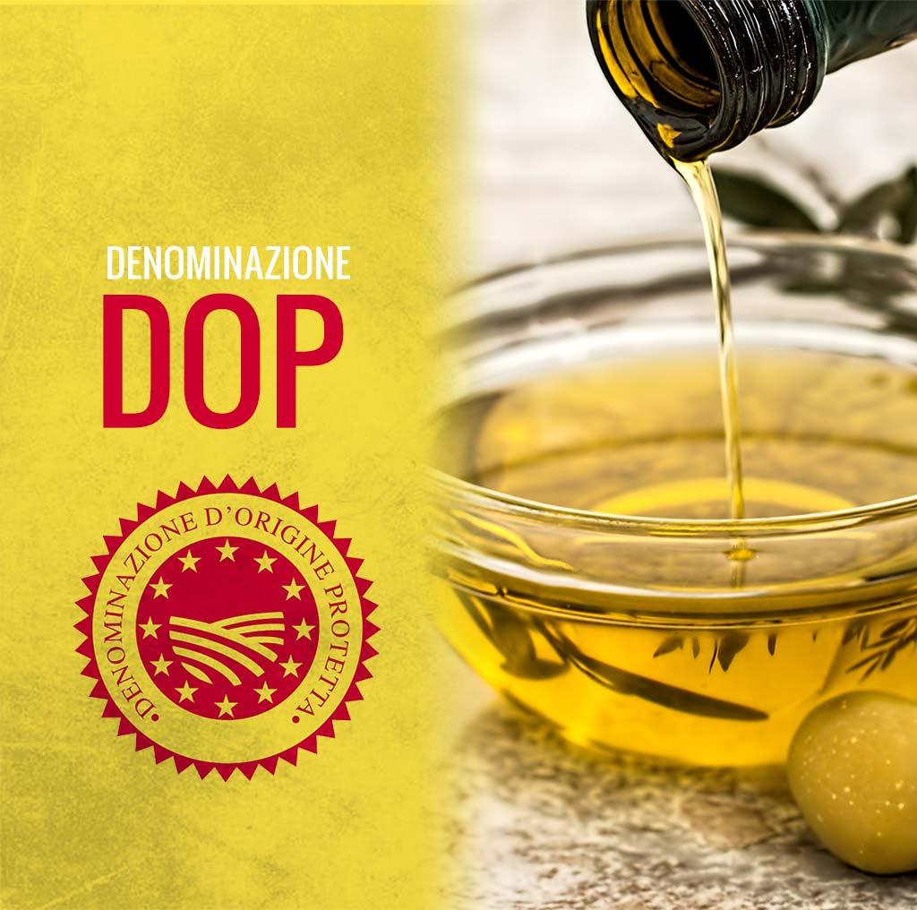 Olio DOP (Denominazione di origini protetta)