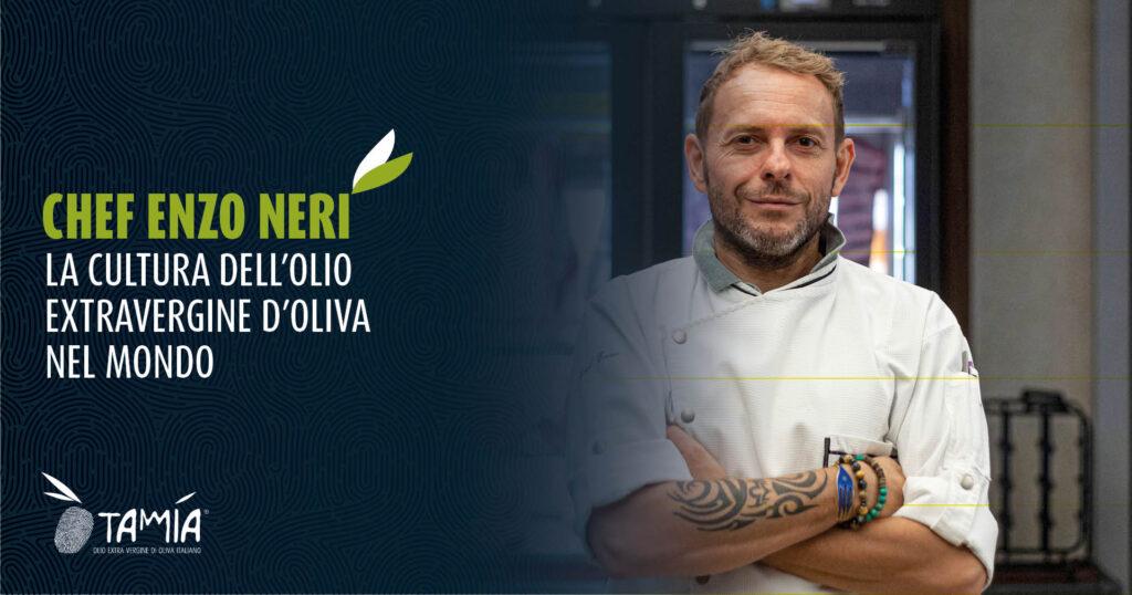 Enzo Neri e la cultura dell'olio extravergine di oliva